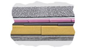 gef lledach austrotherm d mmstoffe xps bauplatte. Black Bedroom Furniture Sets. Home Design Ideas