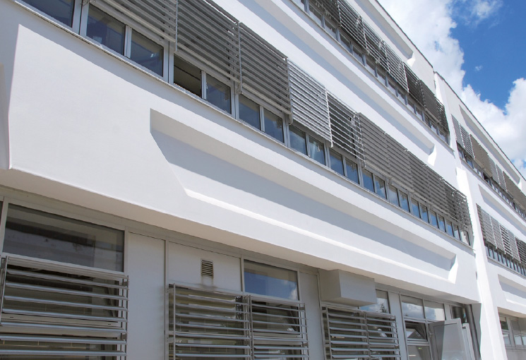 Moderne Fassaden profilierte moderne fassaden austrotherm dämmstoffe xps bauplatte